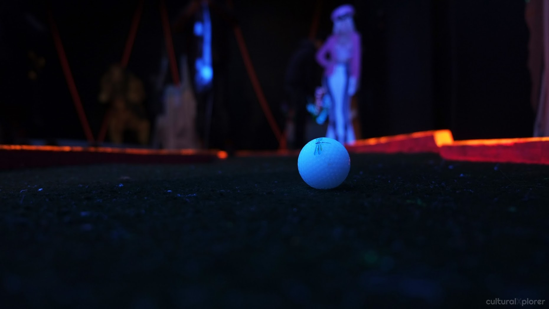 Brooklyn Night Bazaar miniature golf