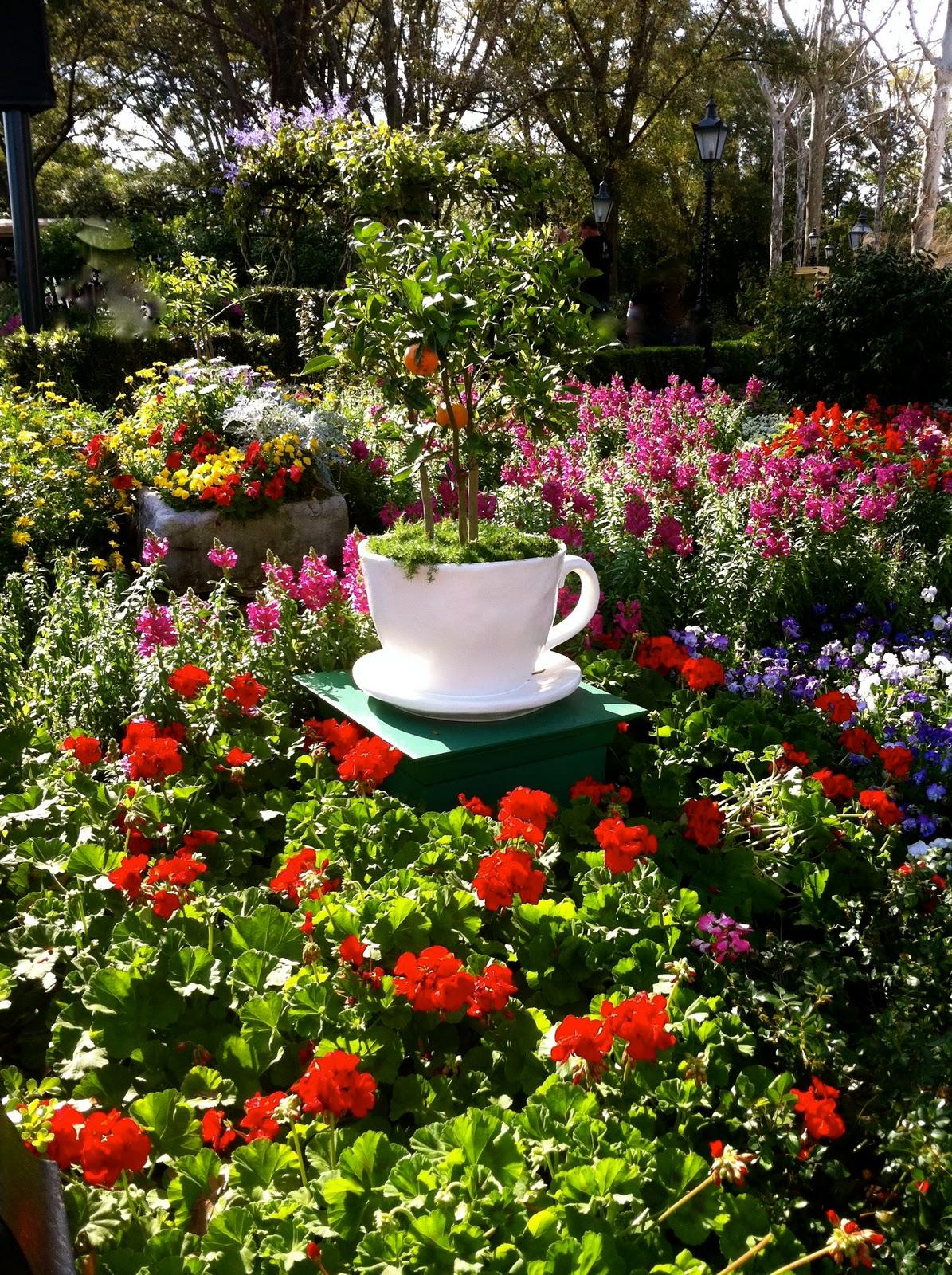 Lou Girl Plus Tea: English Tea Garden / My Dream Garden on My Dream Patio id=69405