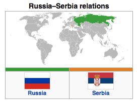 Russia - Serbia Relations