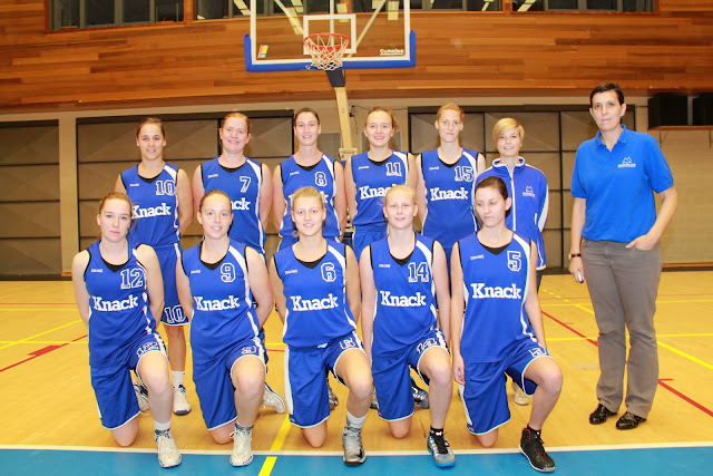basketbalteam Wytewa dames