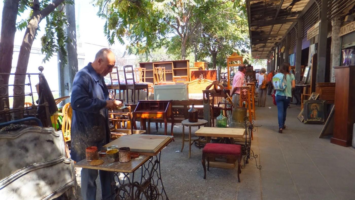 Barrio Italia en Santiago de Chile, barrio de anticuarios | Elisa ...