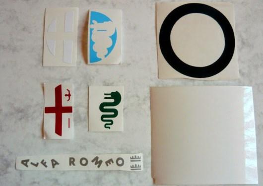 Alfa Romeo Repair Kit