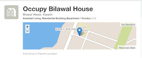 Occupy Bilawal House