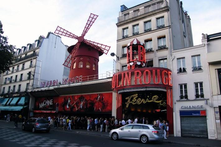 Qué ver en París en un fin de semana; Moulin Rouge