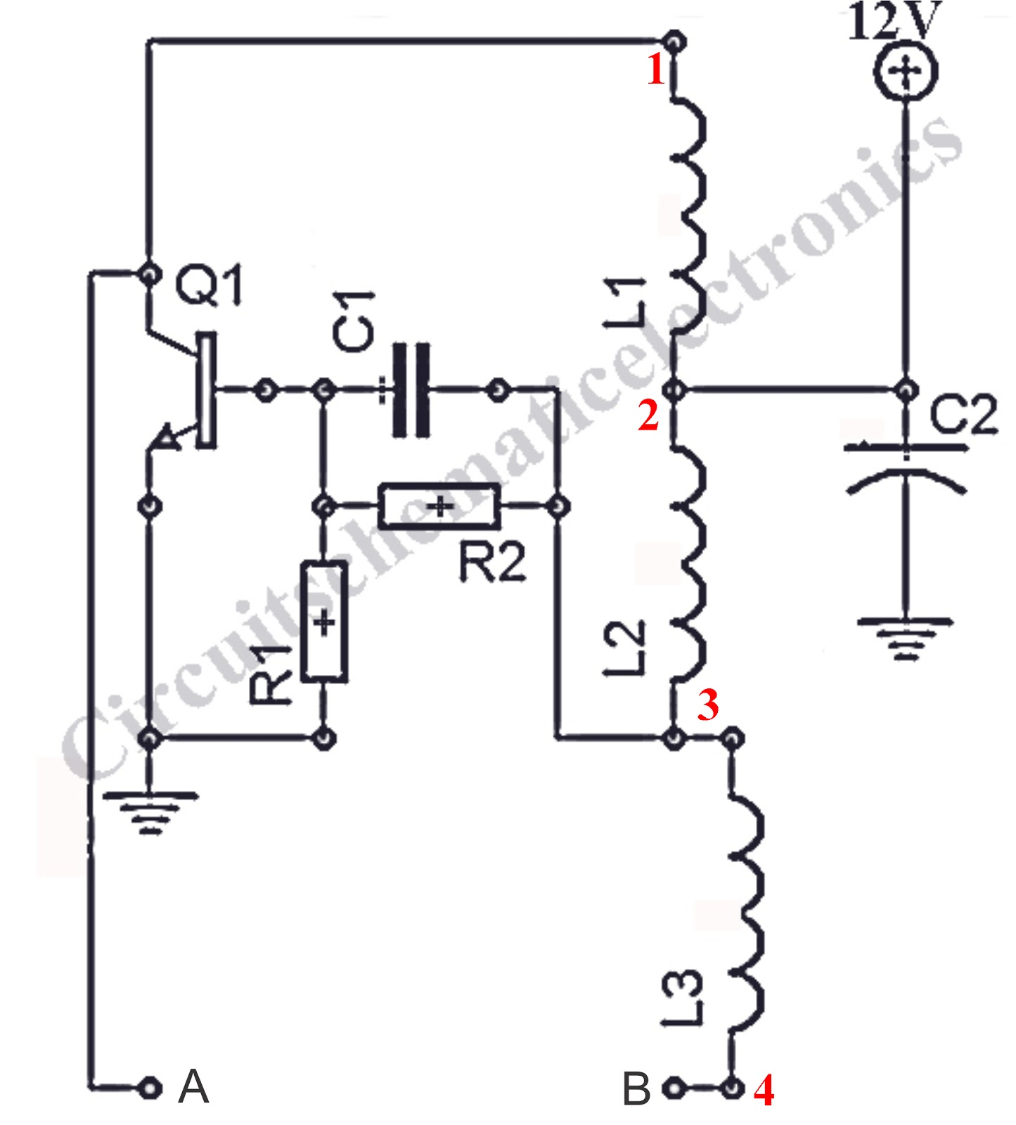 1 5v 12v Inverter Schematic