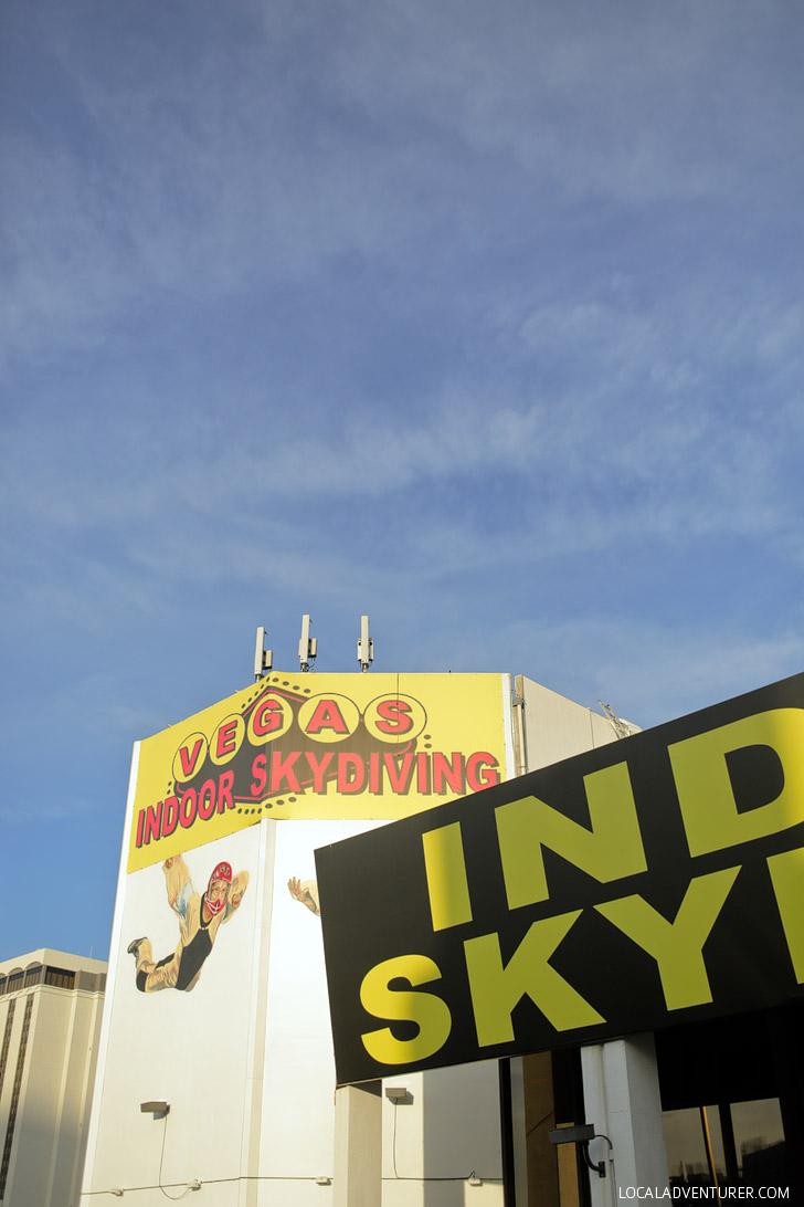 Las Vegas Indoor Skydiving // Fun Things in Vegas.