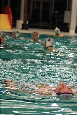 Waterpolo in Spillebad Roeselare
