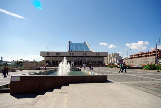 Kazán. Teatro Kamal