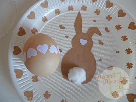 Ideas de decoración de Pascua.