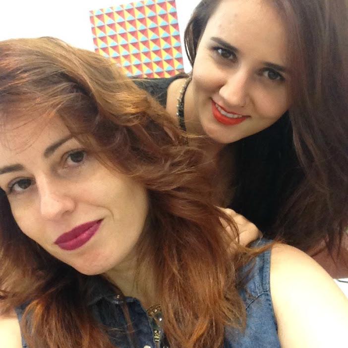 Meu cabelo ruivo com 7.4 da Inoa
