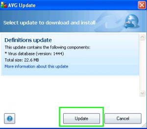 Cara Manual Update AVG Free Antivirus Offline Mode images