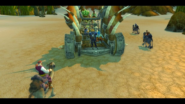 World of Warcraft Uldum