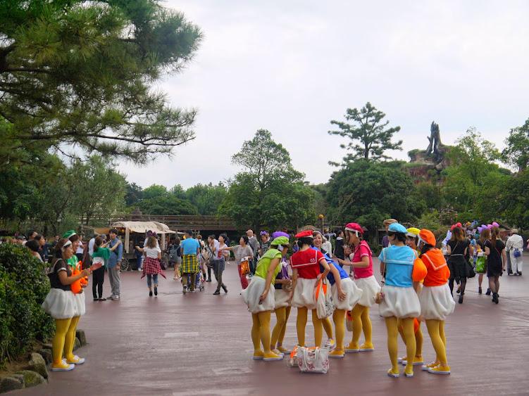 ducklings tokyo disneyland