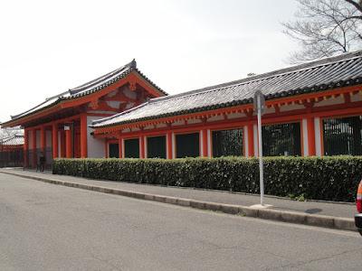 Large shrine is large
