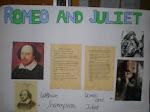 Exposición trabajos en inglés Día del libro 1º ESO B
