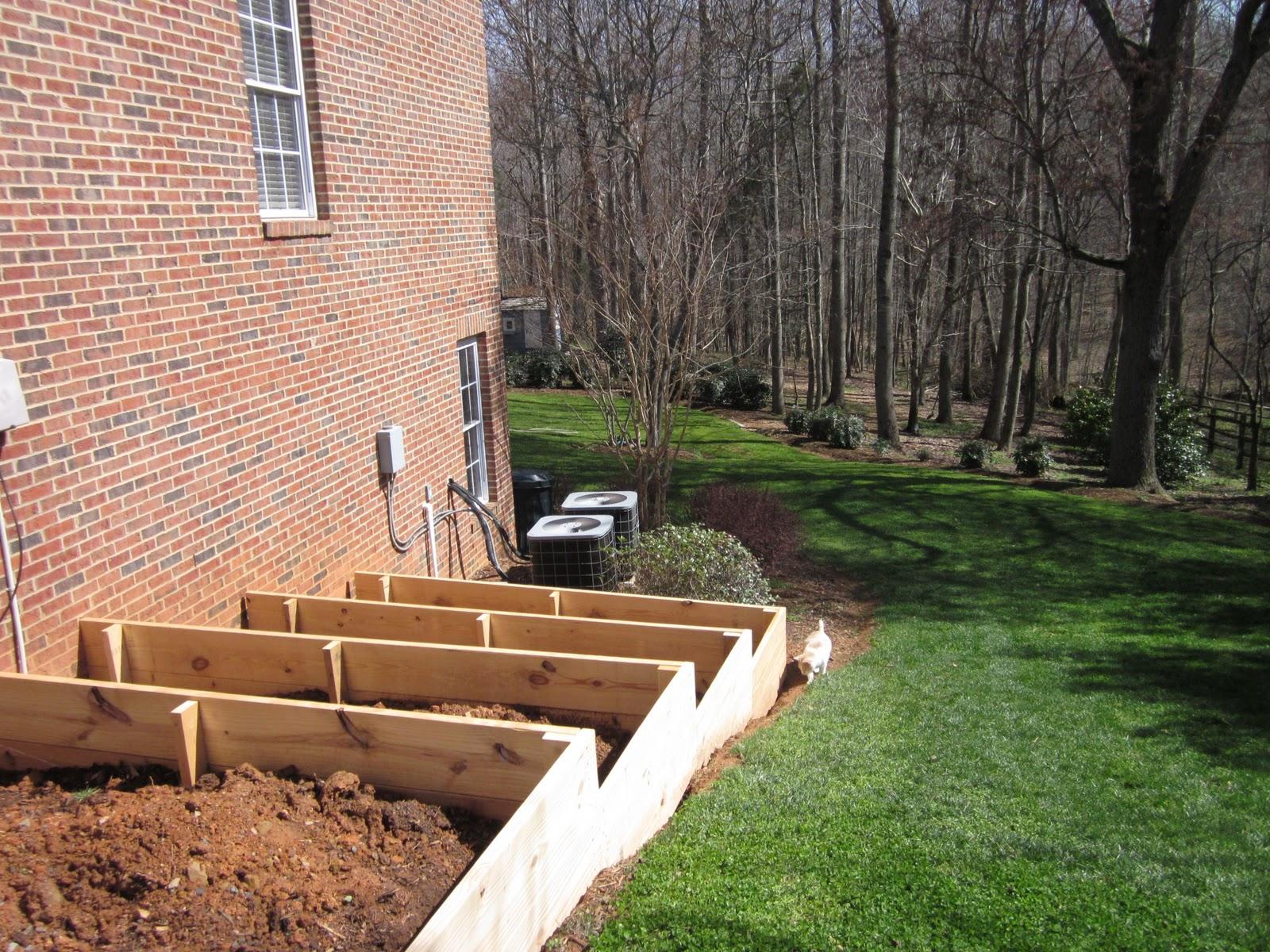 Building Raised Garden Box Slope