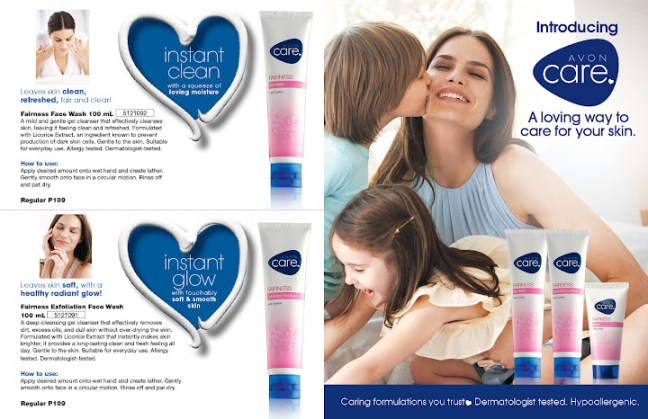 Avon Care fairness whitening