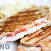 Turkey Provolone Panini (Costco Copycat)