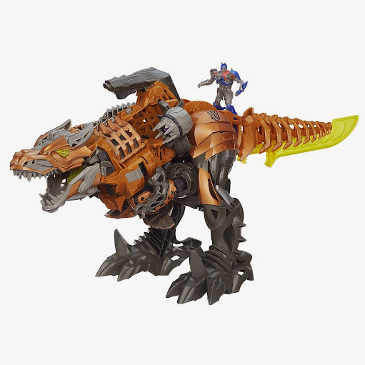 2014 Hot Toys Transformers Age of Extinction Stomp and Chomp Grimlock