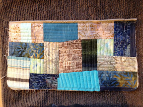 Pocket piece with cording along edge