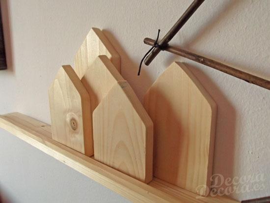 Casitas de madera DIY.