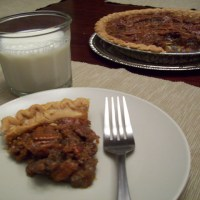 Maple Syrup Pecan Pie