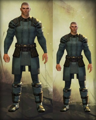 Guild Wars 2 Human Male Height