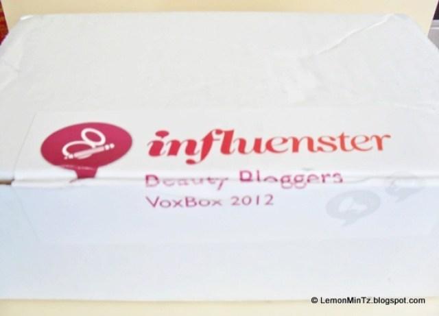 Influenster Beauty Blogger VoxBox 2012