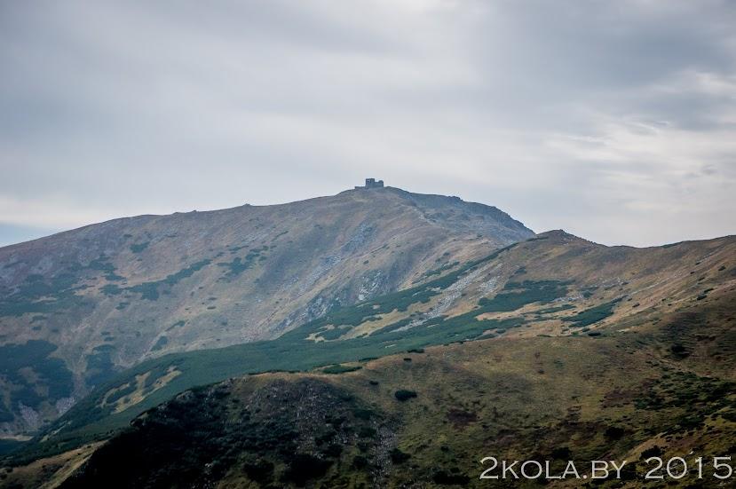Обсерватория г. Поп-Иван