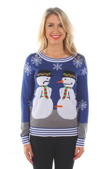 雪だるまのセーター