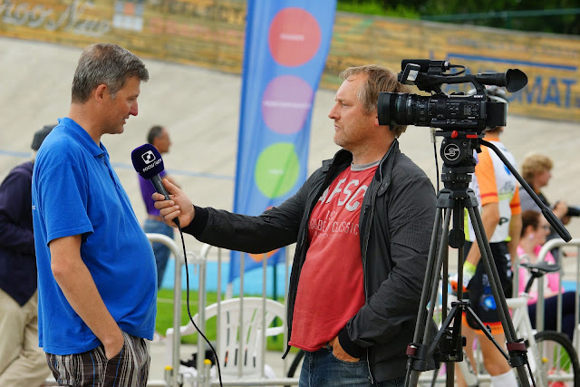 Kris Hanne bij Jeroen Sap van Focus-WTV