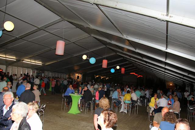 de VIP-tent