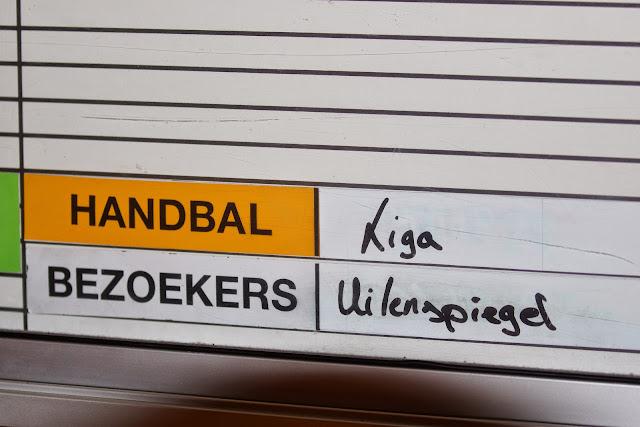 Knack Handbal Roeselare vs Uilenspiegel