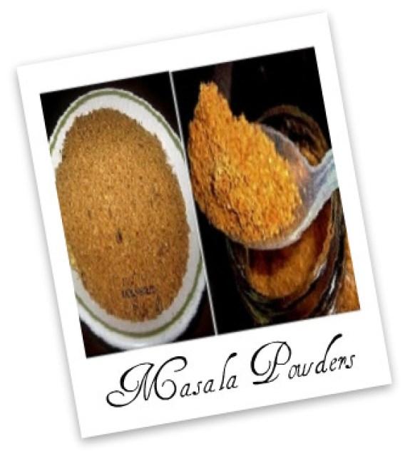 Veg-Recipes -Spice Powders |kothiyavunu.com