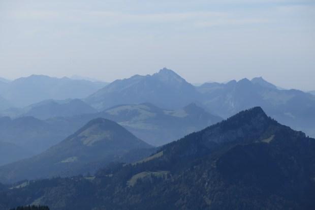 Auch der Wendelstein ist vom Gipfel aus zu sehen