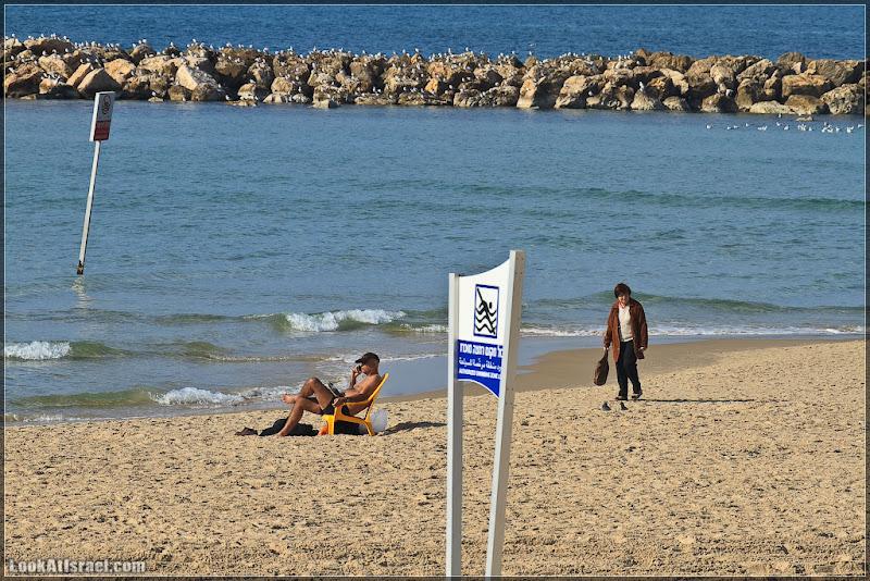 В Тель Авиве суровая зима!