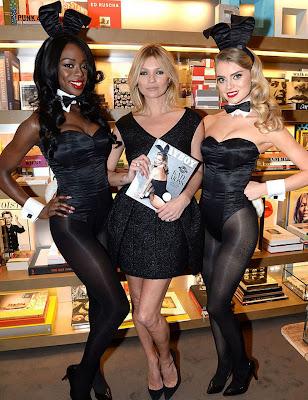 #Playboy 60周年紀念刊:獻上 Kate Moss 兔女郎造型封面 7
