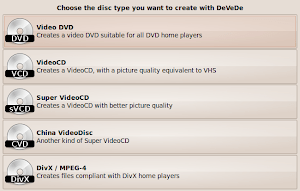 DeVeDe - A Free and Powerful Video Disc Creator