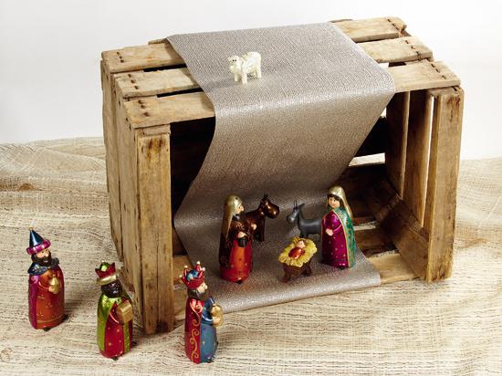 6 ideas diy para decorar en navidad for Como decorar un belen de navidad