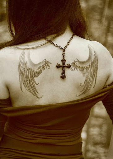 wings angel tattoos