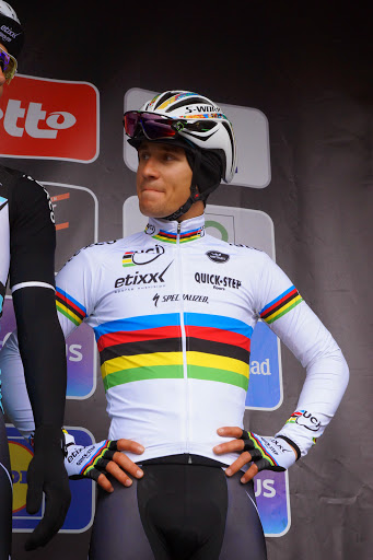 Wereldkampioen Michal Kwiatkowski