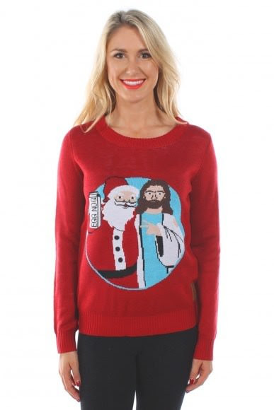 サンタクロースのセーター