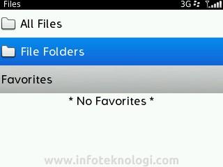 File Folders screenshot