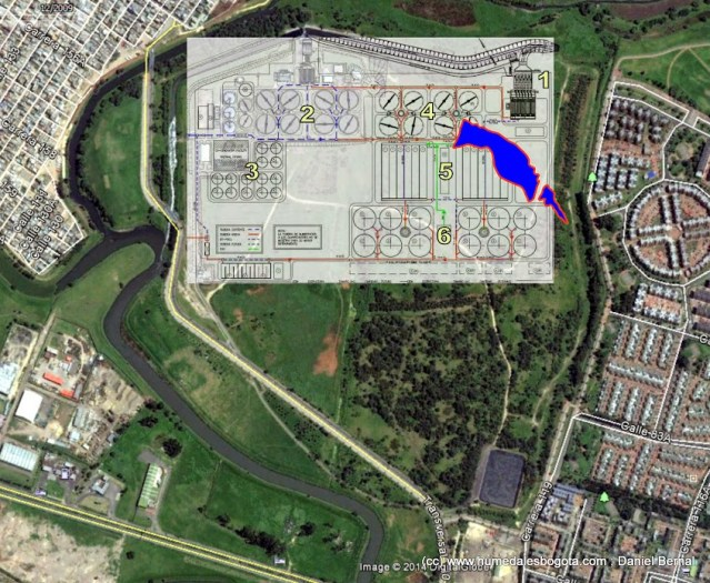 Mapa PTAR Salitre