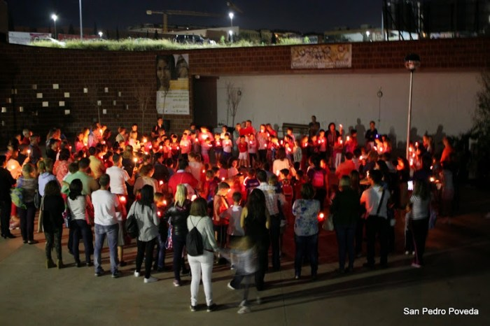 En la Parroquia de San Pedro Poveda hemos dado luz al mundo