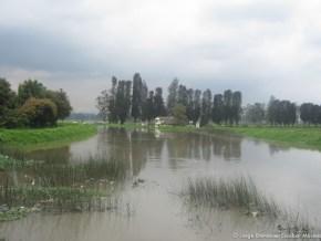 Río Bogotá en el Meandro del Say