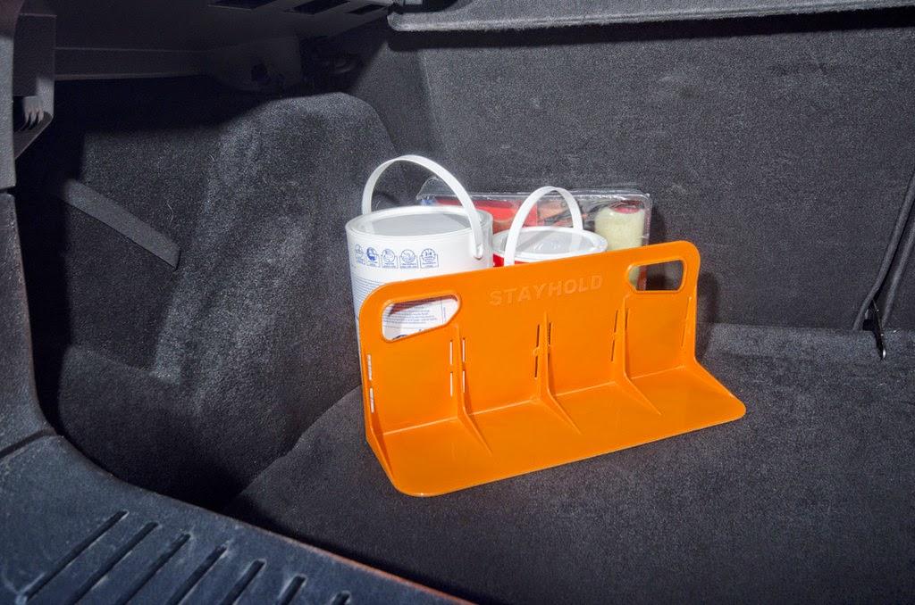 *STAYHOLD™魔鬼沾分隔擋:行車時不再聽見後車廂物品的碰撞聲! 3