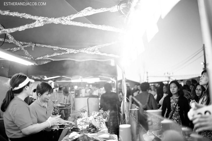 Richmond Vancouver Night Market.