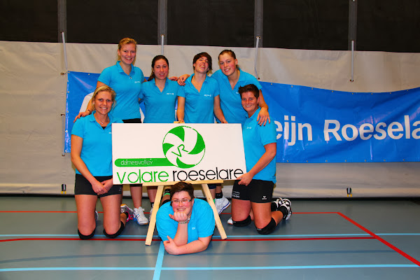 Volare A volleybalteam Roeselare ploegfoto