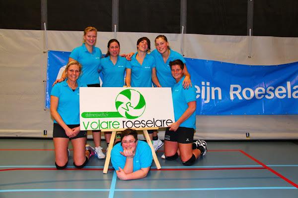 Volare A volleybalteam Roeselare ploegfoto